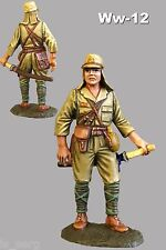 Toy Soldiers WW2 Japanese Officer 1944 1/32 scale Tin 54mm Painted Figurine