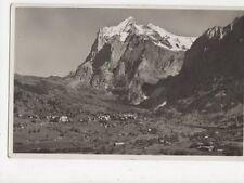 Grindelwald Wetterhorn RP Postcard Switzerland 394a