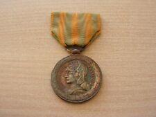 medaille    argent   tonkin chine annam  (ref 7000)