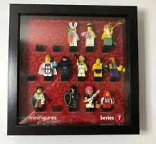 Vitrine cadre pour Lego Series 20 Minifigures FCM 71027 no figures