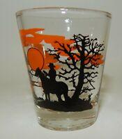 Vintage Nevada Cowboy  Souvenir Shot Glass