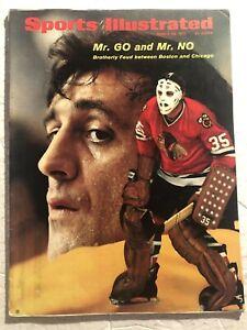 1971 Sports Illustrated BOSTON BRUINS Chicago Hawks PHIL Tony ESPOSITO No Label
