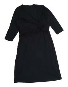 Marks and Spencer Womens Black   A-Line  Size 12