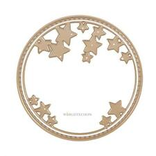 2pcs Circle Gold Metal Cutting Dies Stencil Scrapbook Paper Cards DIY Embossing