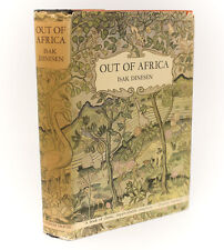 Isak Dineson 'Out of Africa.' Random House, 1938. 1st Edition, Dust Jacket