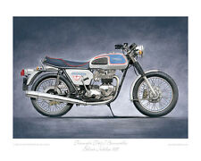 """Triumph T140J Jubilee Bonneville (1977) - Limited Edition Art Print 20""""x16"""""""