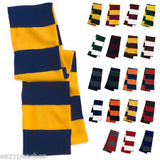 X5 PERSONALISED EMBROIDERED LOGO SCARF SCARVES FOOTBALL RUGBY SPORTS TEAM