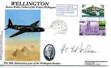 WWII Vickers Wellington Barnes Wallis cover SIGNED Francis Red McLaren