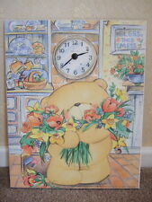 "Vintage Forever Friends Wall Clock ""Bless This Mess"" Children's Playroom Bedroom"