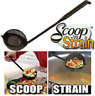Scoop N' Strain Ladle Kitchen Tool Pour Measure As Seen On TV Stove Pasta Soup