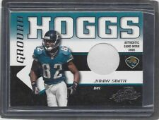 JIMMY SMITH 2001 ABSOLUTE GROUND HOGGS GAME USED SHOE PATCH #D 31/125
