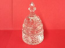 """Wonderful Waterford Capital Dome Paperweight 5""""H Signed Waterford, Seahorse Mark"""