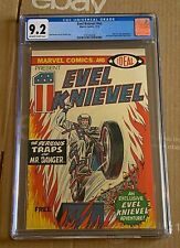 Evel Knievel Marvel Comics Promotional Giveaway Comic Book 1974 GCG 9.2 NM-