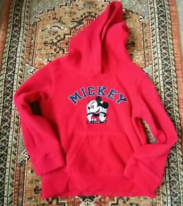 Disney Mickey Mouse Fleece Hoodie. Kids size 7/8