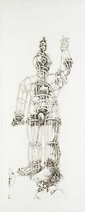 Tom Otterness: Giant, 1994. Large Scale,Signed, Limited Edition, Fine Art Print.