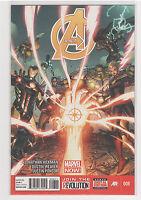 Avengers (Volume 5) #8 Captain America Wolverine Hulk Iron Man Spiderman 9.6