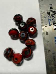 Chinarovski Faceted Glass Crystal Rondelle Space Beads ***UPICK*** 10mm 12mm
