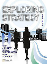 Exploring Strategy (9th Edition)-ExLibrary
