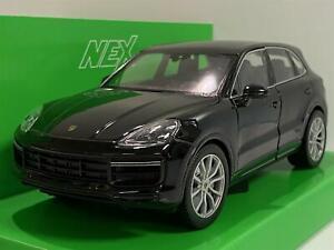 Porsche Cayenne Turbo Black 1:24 Scale Welly 24092BLK