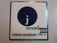 J RECORDS URBAN SAMPLER VOL.3 2009 13 TRK PROMO CD MARIAH CAREY BUSTA RHYMES OOP