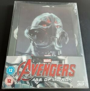 Avengers : Age Of Ultron Steelbook lenticulaire Zavvi Blu-ray Neuf Sous Blister