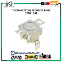 Thermostat de sécurité Four, cuisinière ELECTROLUX FAURE IKEA ZANUSSI T200 16A