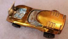 Vintage Mattel 1968 Hot Wheels Redline Gold Torero