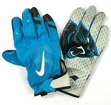 Nike Vapor Fly Carolina Panthers Football Gloves Men sz 4XL   (B20)
