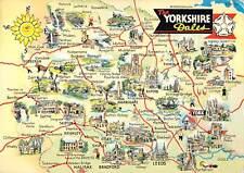 uk34774 yorkshire dales  uk carte geographique map