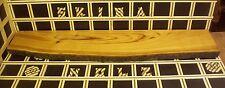 R22 Wandboard Kirschholz Massiv Regal Steckboard Brett 40mm x 17-22cm x 100cm