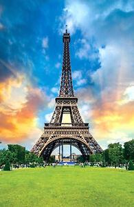 1000 Pieces Adult Puzzle Set Paris the Eiffel Tower Jigsaw Difficult Puzzle LB