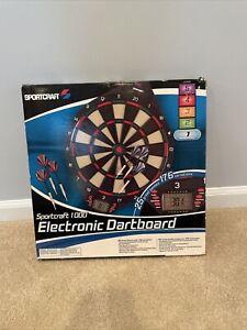 Sportcraft 1000 Electronic Dartboard - Read Desc - 25 Games - 176 Variations