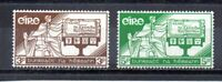 Ireland #Mi140-Mi141 MNH CV€10.00 Constitution Allegory [SG176-SG177 169-170]