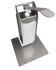 Desinfektionsspender für Theke/Tisch Edelstahl, mit 1000ml Flasche