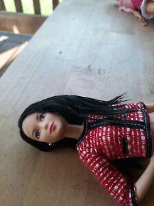 Black Hair Barbie doll (asian?) - nude