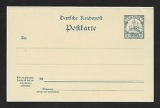 E6317 GERMAN COLONY SAMOA VINTAGE UNUSED DOUBLE CARD STATIONERY MINT CONDITION
