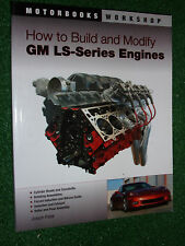 How to Build & Modify GM LS-Series Engines Motorbooks Workshop Manual LS1 > LS9