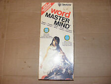 VINTAGE WORD MASTER MIND GAME BY INVICTA DATED 1975   FREEPOST UK