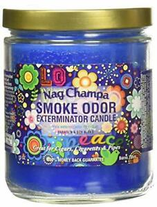 Smoke Odor Exterminator 13 Oz Jar Candle Nag Champa (3-Candles)