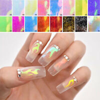 Holographicss 3D Hollow Nail Art Stickers Hollow Adhesive Transfer Stickers Tips