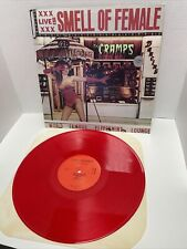 The Cramps Smell Of Female LP Colored Red Vinyl 1990 Enigma DEI2005-1