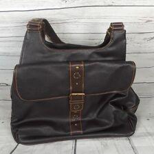 "Baby Boom Leather Shoulder Storage Bag 23""x16"" New"
