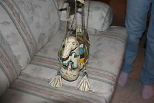 RARE VINTAGE THAILAND ANTIQUE MARIONETTE STRING PUPPET WOOD HANDMADE  JOINTED