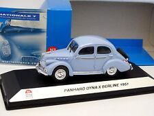 Starter N7 Provence Résine 1/43 - Panhard Dyna X 1951 Bleue
