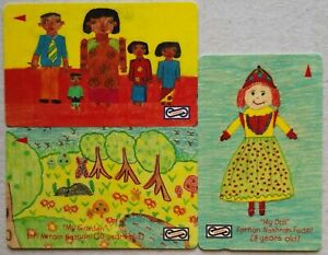 Malaysia Used Phone Cards - 3 pcs Children Drawings