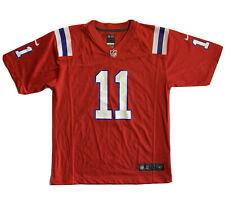 Nike New England Patriots Julien Edelman Alternate Jersey Youth Size Large 14/16