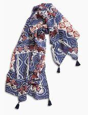 LUCKY BRAND Women's Rockefellar Square Scarf 100% Silk NWT Retail $69.50