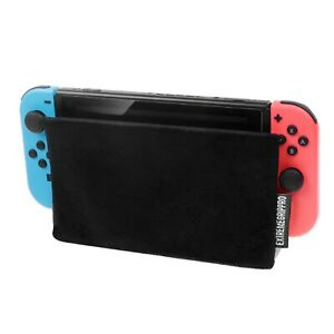 EGP™ Nintendo Switch Dock Sock - Dock Cover - Screen Protector - Black Sleeve