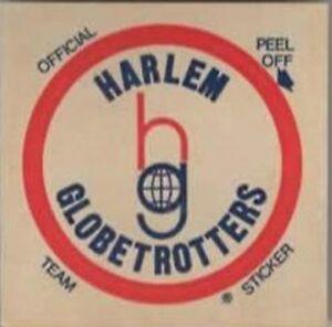 1972 HARLEM GOBETROTTERS STICKER/DECAL