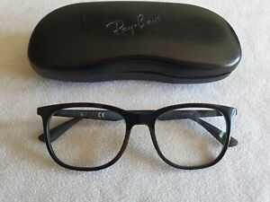 Ray Ban black glasses frames. RB 7078 2000. With case.